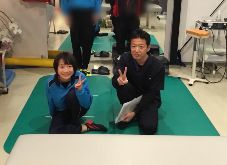 米澤奈々香選手テレビ出演